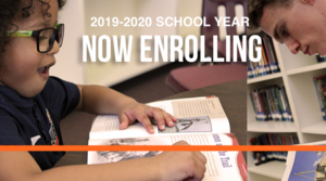 Now enrolling for the 2019-2020 school year
