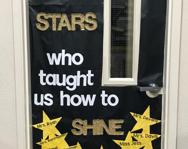 HF Teacher Door