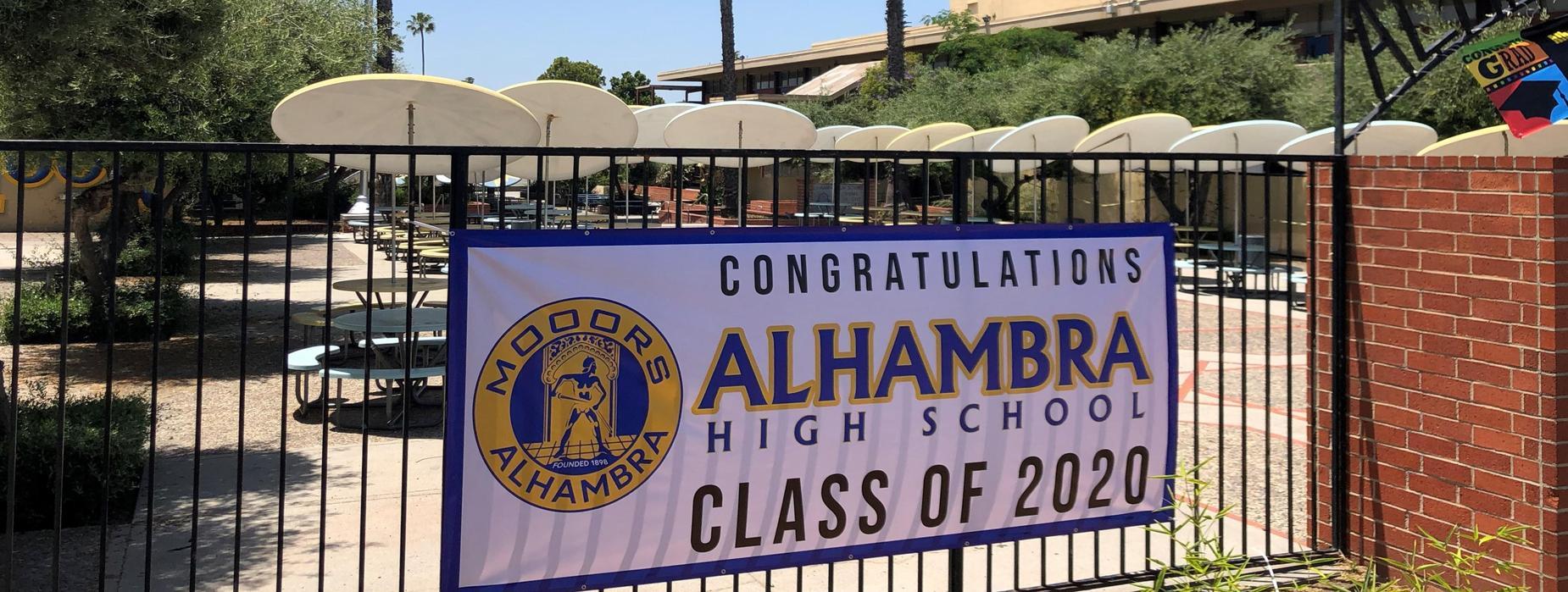 AHS Class of 2020 Banner