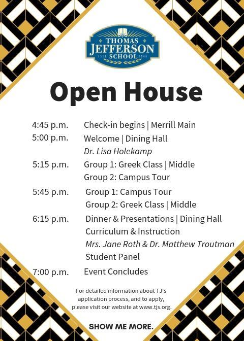 Open House | Wednesday, November 14, 2018 | 5-7pm Featured Photo