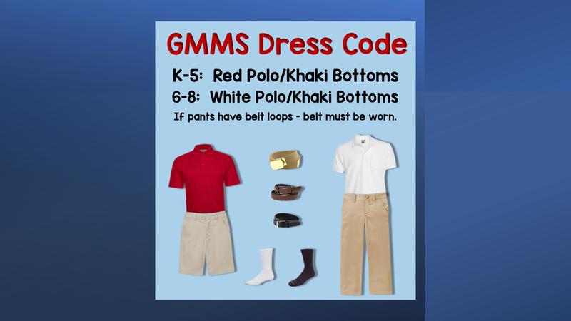GMMS Dress Code