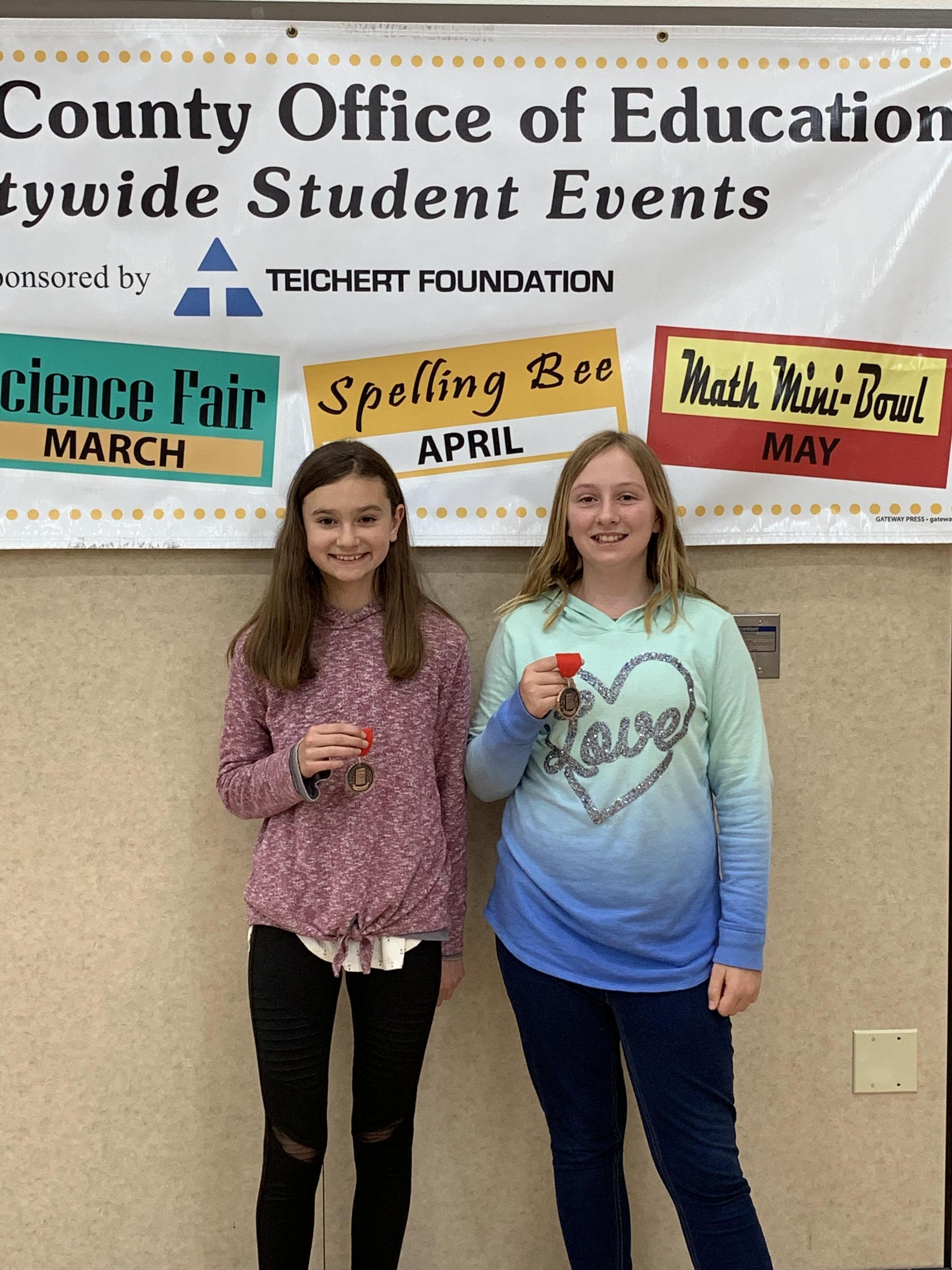 6th grade huddle winners