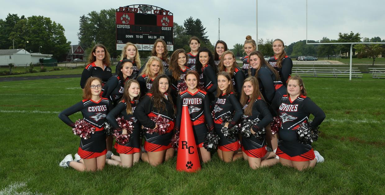2018 RCHS Varsity Cheer Team
