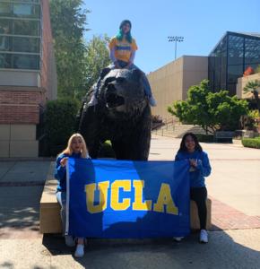 UCLA sisters