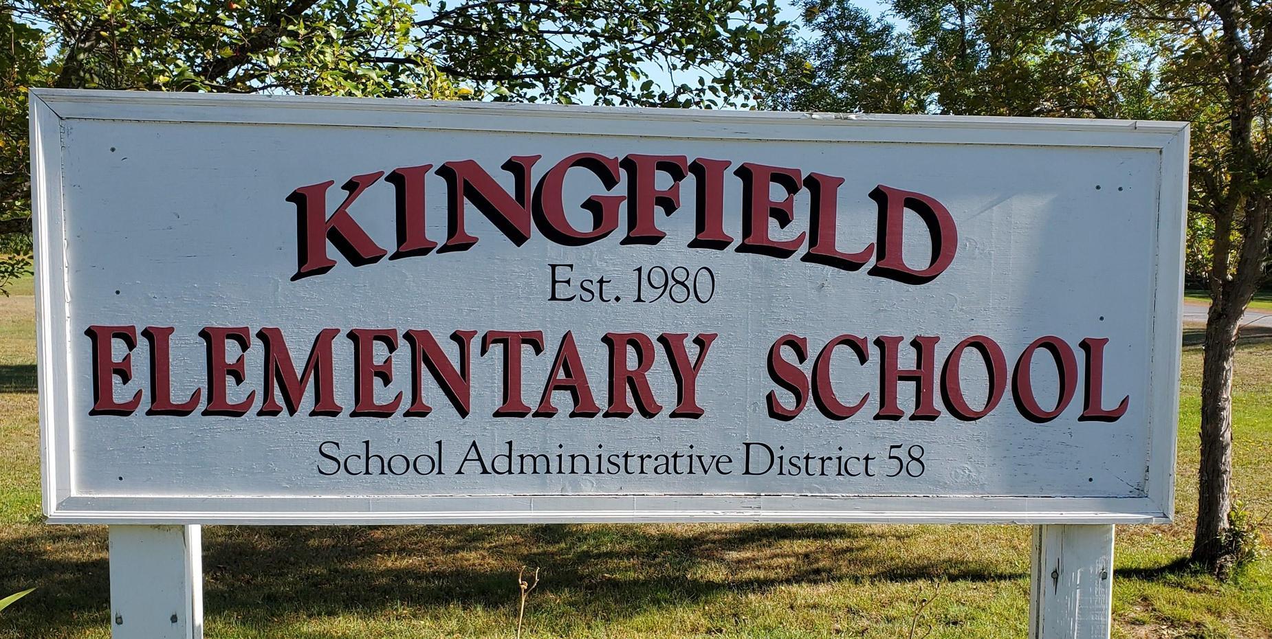 Kingfield Sign