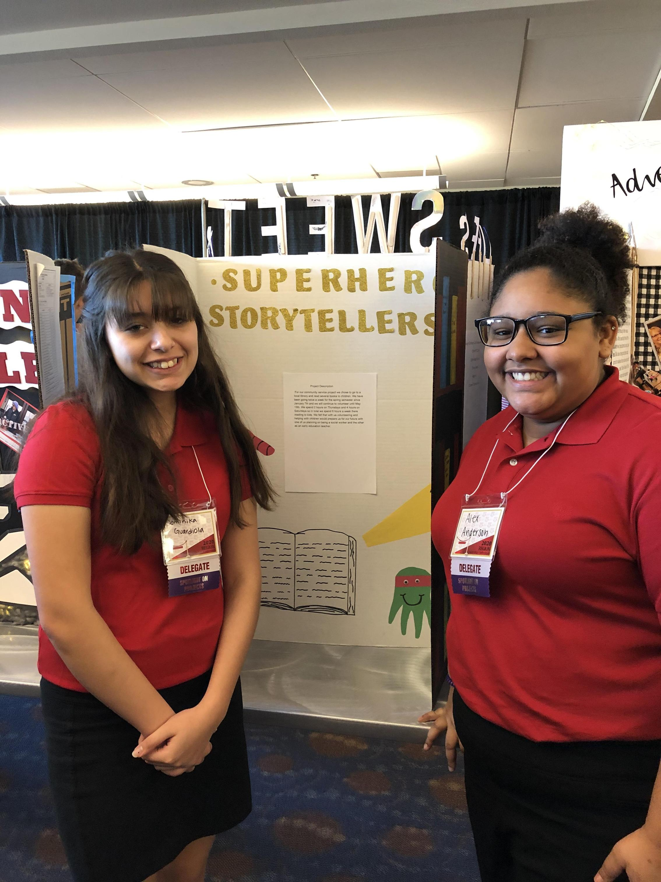 Spotlight on Projects Competitors Dominika Guardiola and Alex Anderson