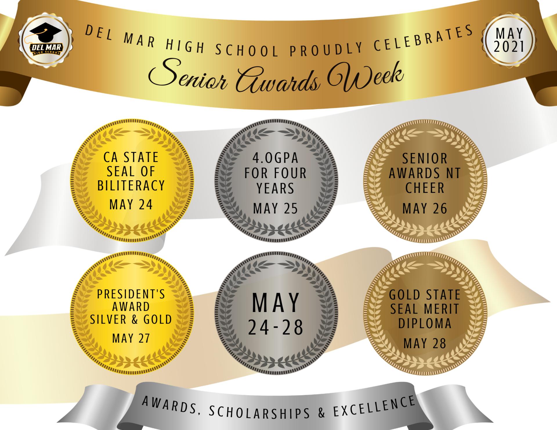 senior awards week intro