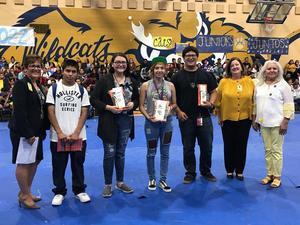 Winners of the Summer myOn Reading Challenge