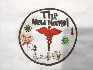The New Normal Poster referring to Covid