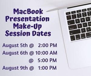 Make Up MacBook presentations