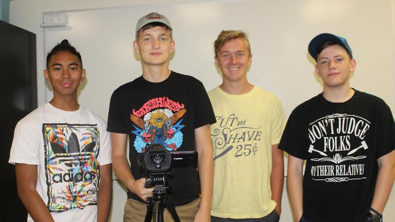 Members of CHS On Demand Video Team