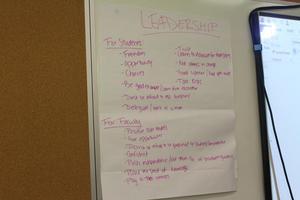 leadership pad
