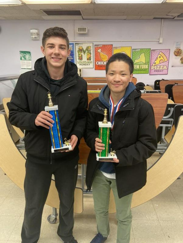 Maspeth high School ArgoKnights Win 1st Place Team Trophy Featured Photo