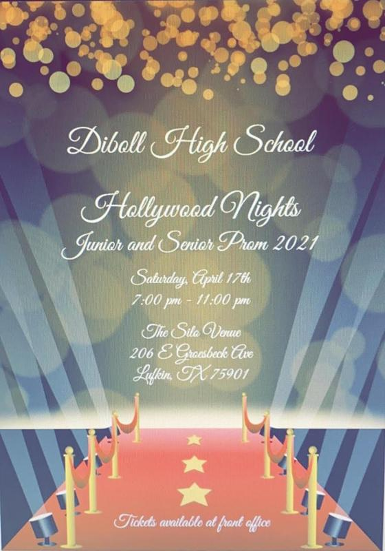 Diboll High School Prom Announcement Thumbnail Image