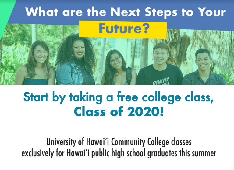 University of Hawaii Offers Free Course to 2020 Graduates Featured Photo