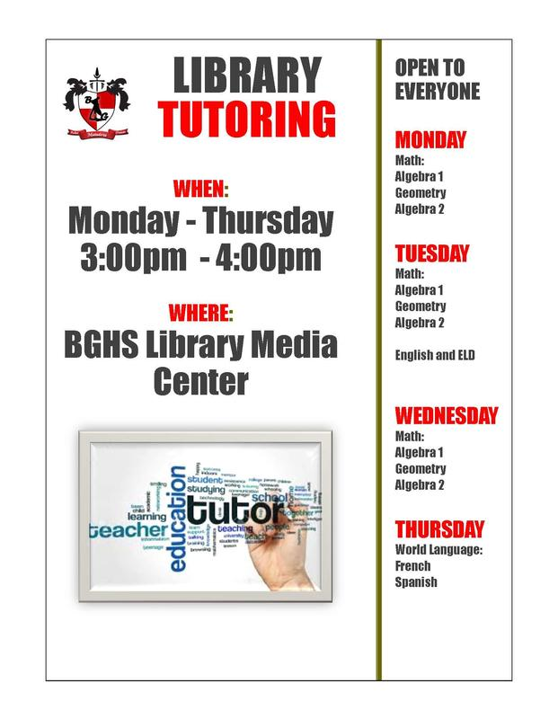 Tutoring is Available! Featured Photo
