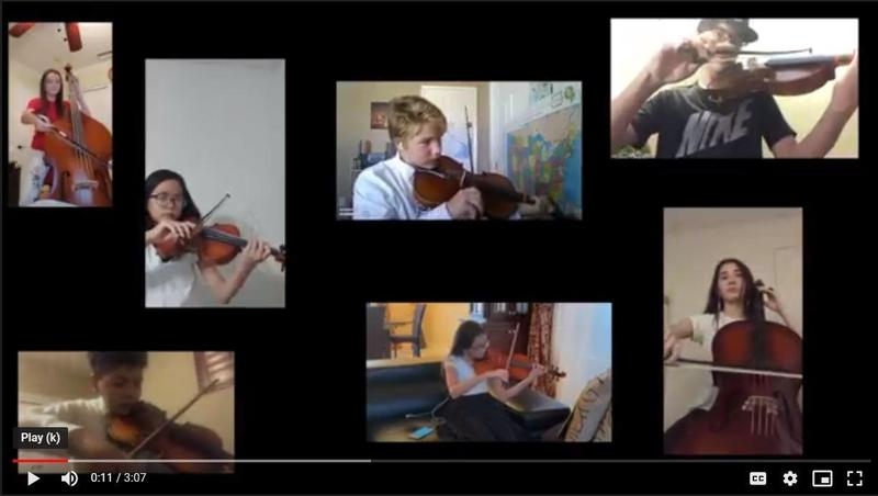 McCabe Orchestra Virtual Performance Thumbnail Image