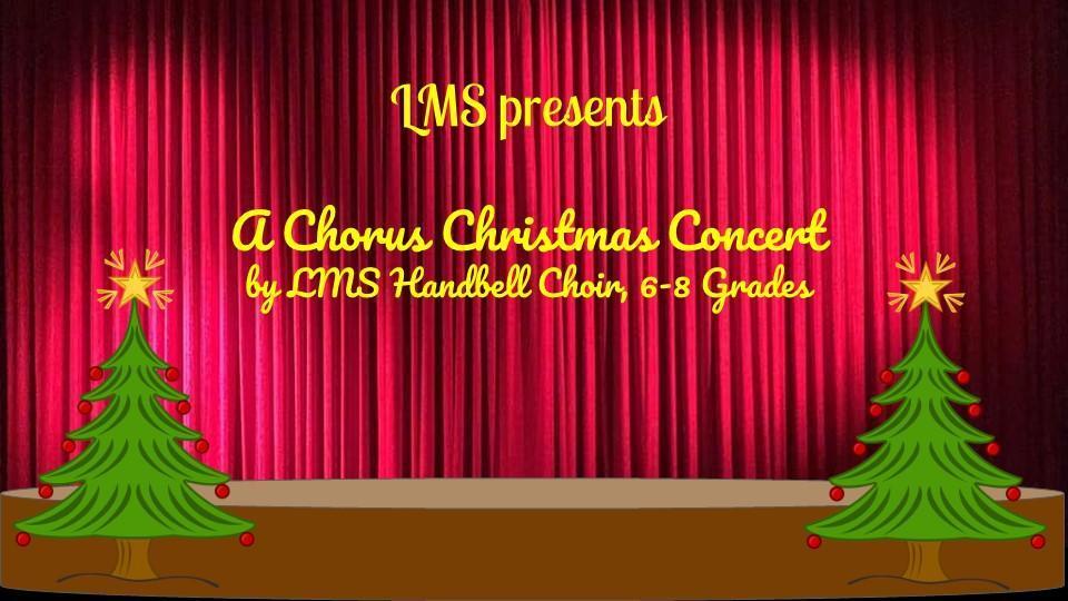 A Chorus Christmas concert link