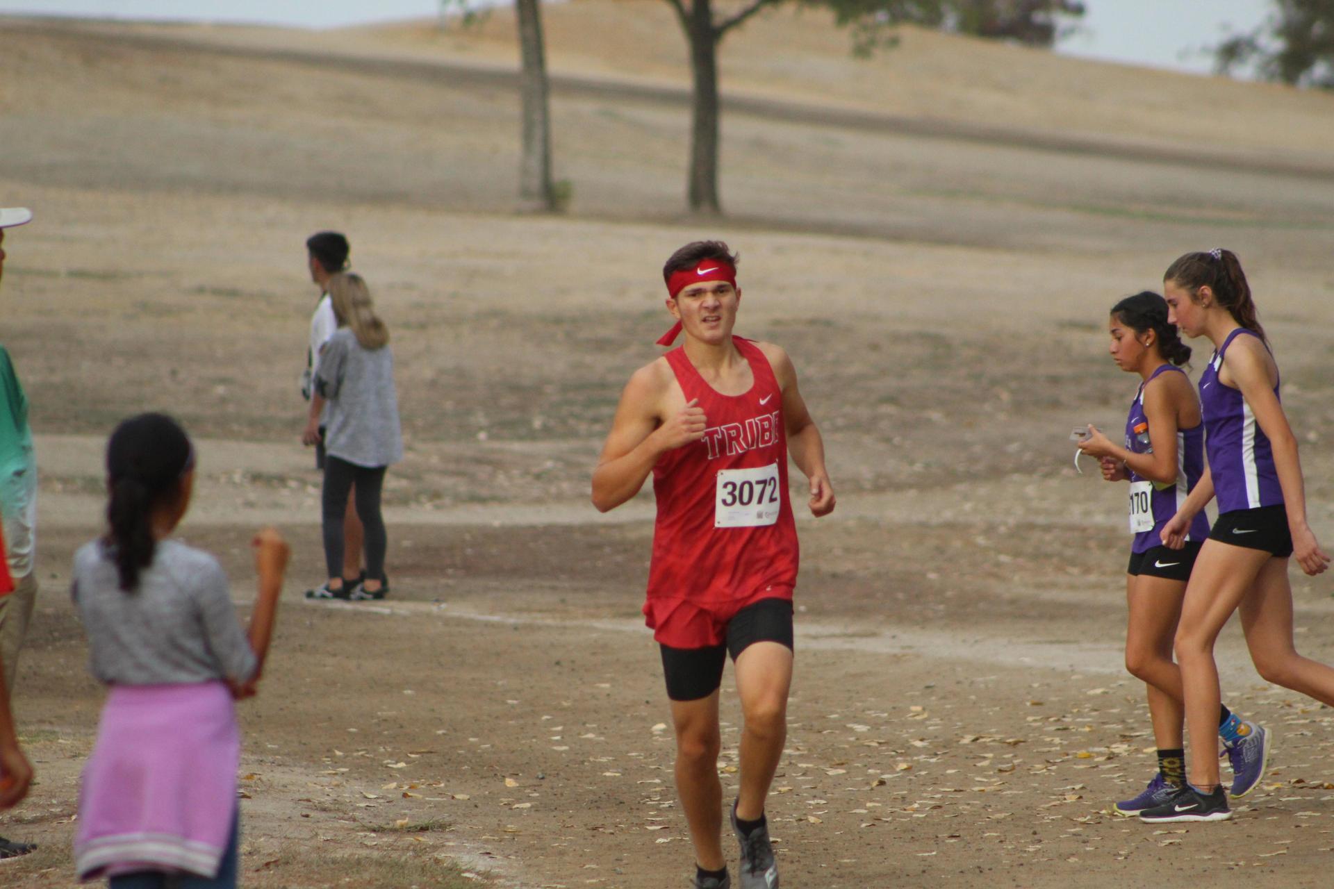 Andrew Castaneda running