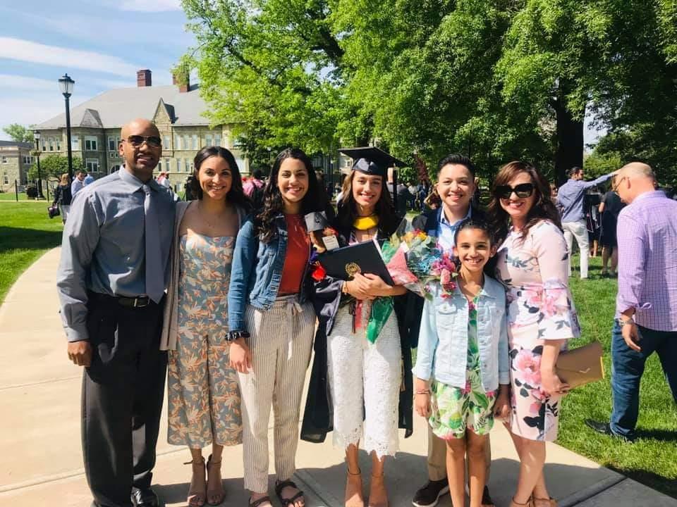 My family at my graduation.