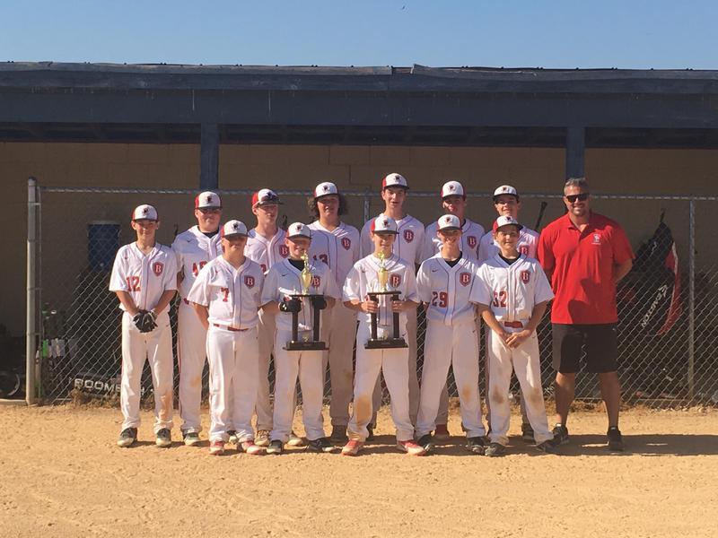 2018 TBS Middle School baseball title-winning team