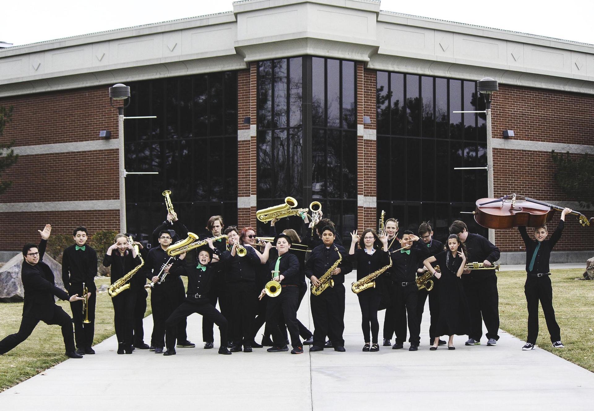 Jazz Band at NNU's Jazz Festival 2019
