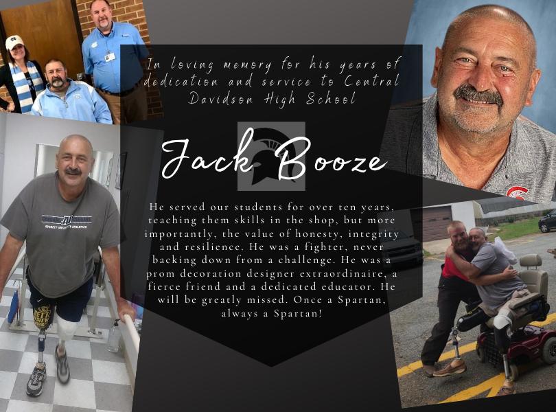 Memorial for Mr. Jack Booze