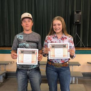 Students Recognized at the May School Board Meeting Thumbnail Image