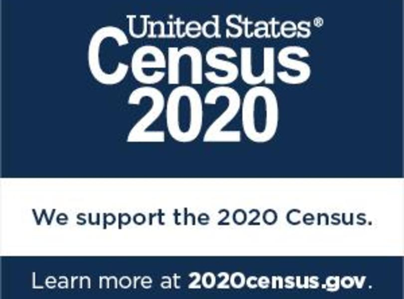 US Census 2020-We support the 2020 Census.  Learn more at 2020census.gov