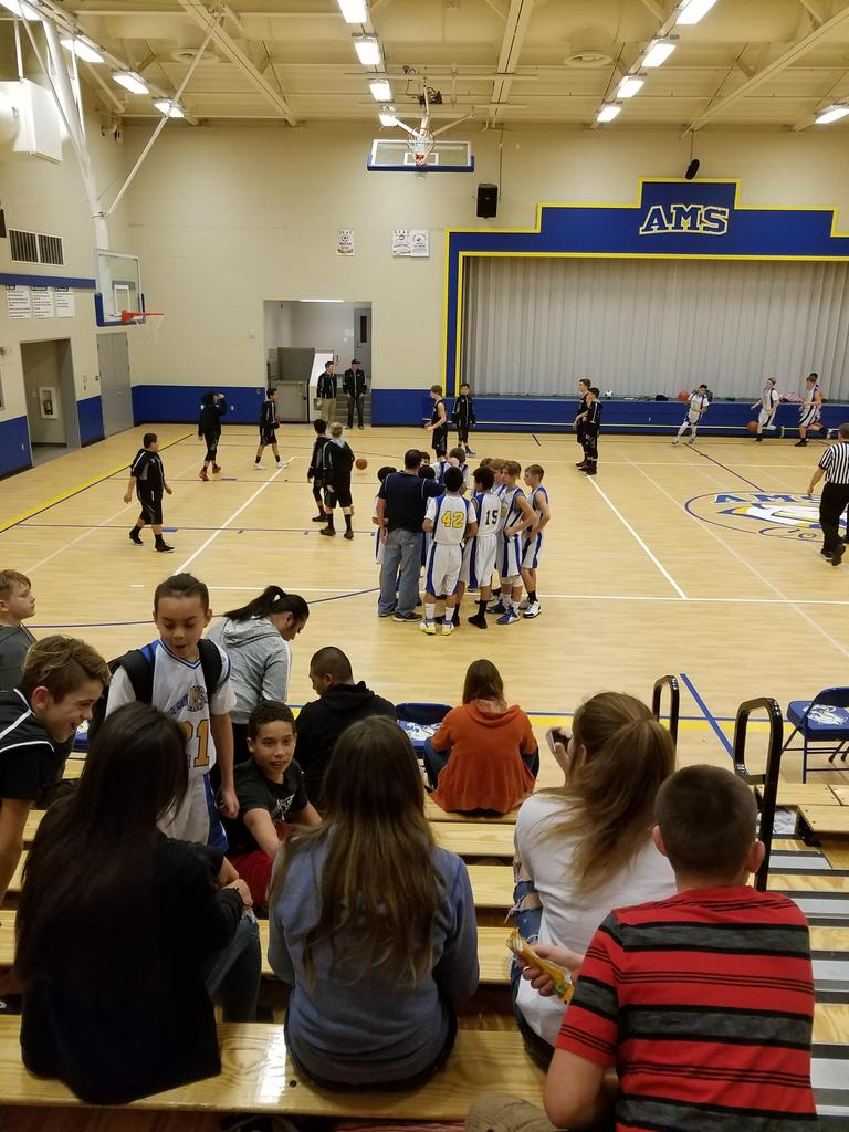 7th grade Basketball team