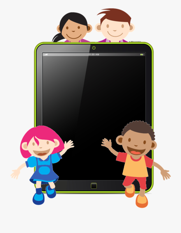 Children with iPad