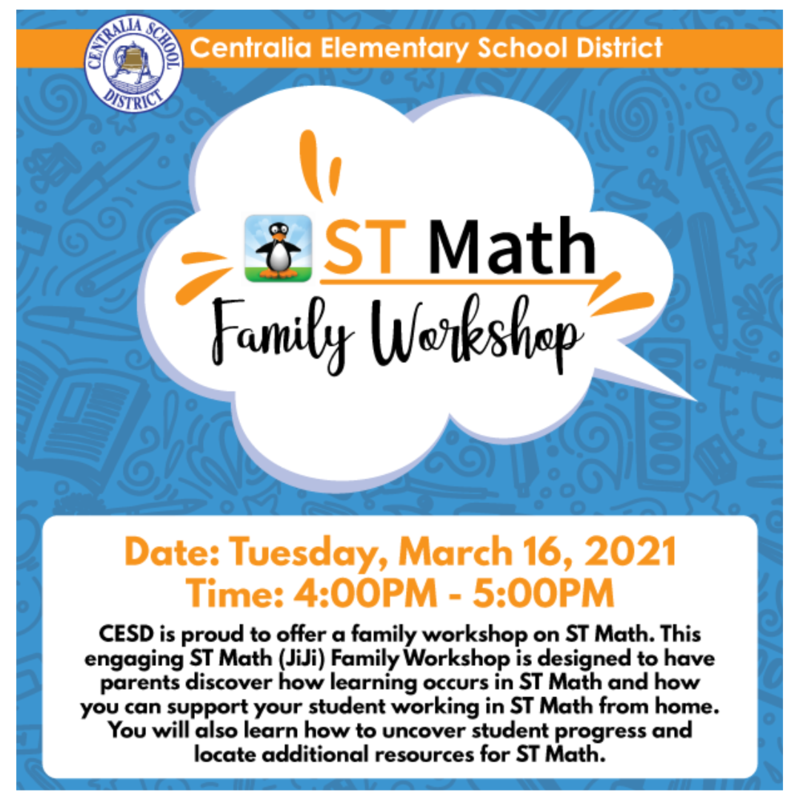 ST Math Family Workshop