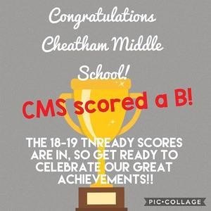 cms scored a B