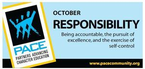 October Pace Trait banner -Responsibility