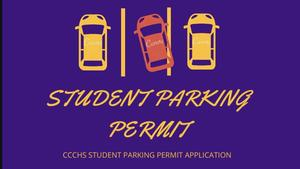 Student parking permit
