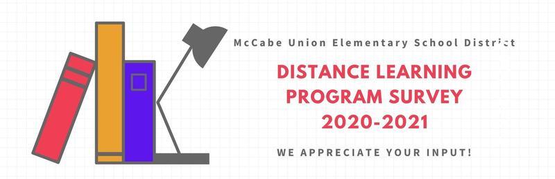 Distance Learning Program Survey 2020-2021 - Parent Email Thumbnail Image
