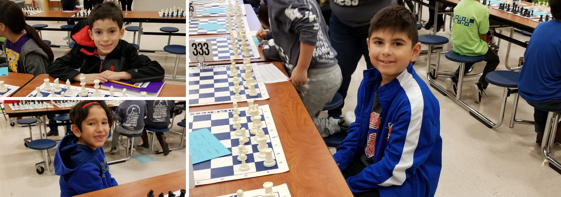 Chess players at tournament