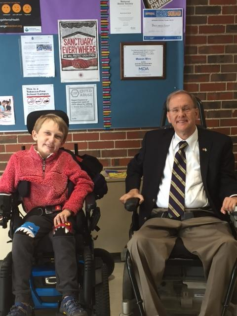 Congressman Langevin Visits the School.jpg