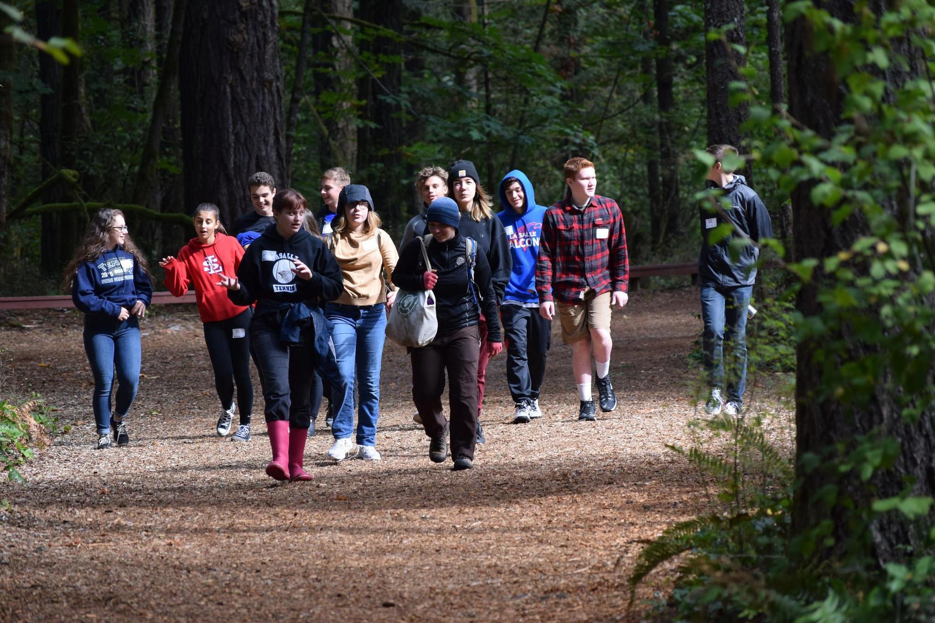 Students Exploring