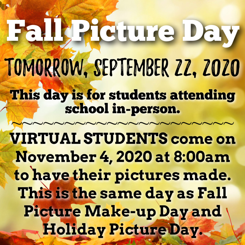 Fall 2020 Picture Day Featured Photo