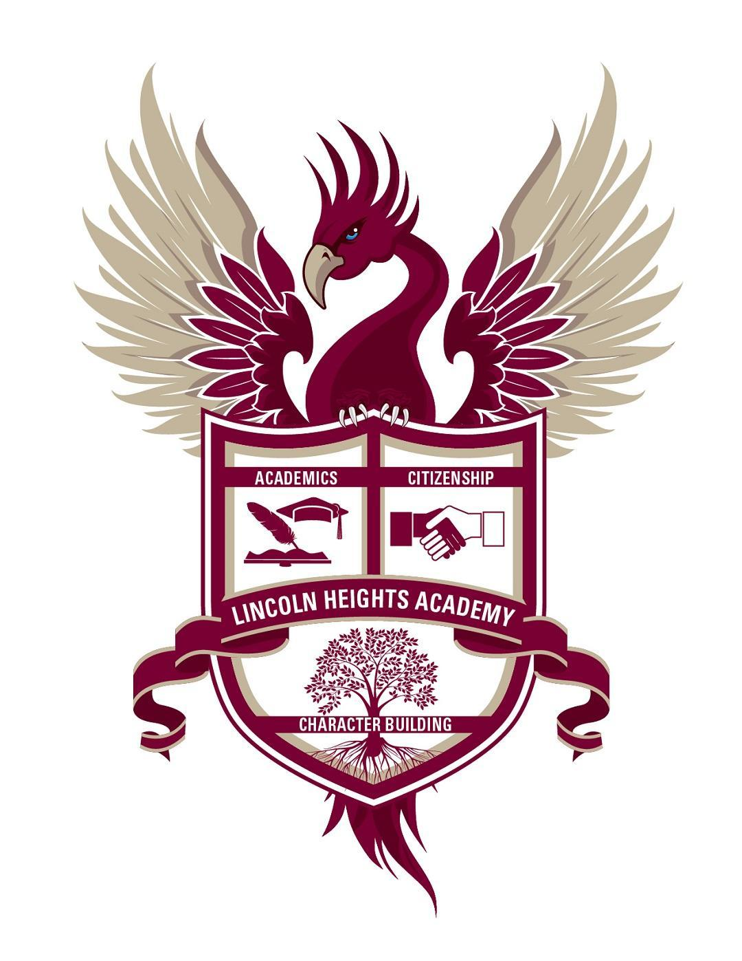 Lincoln Heights Academy crest and logo