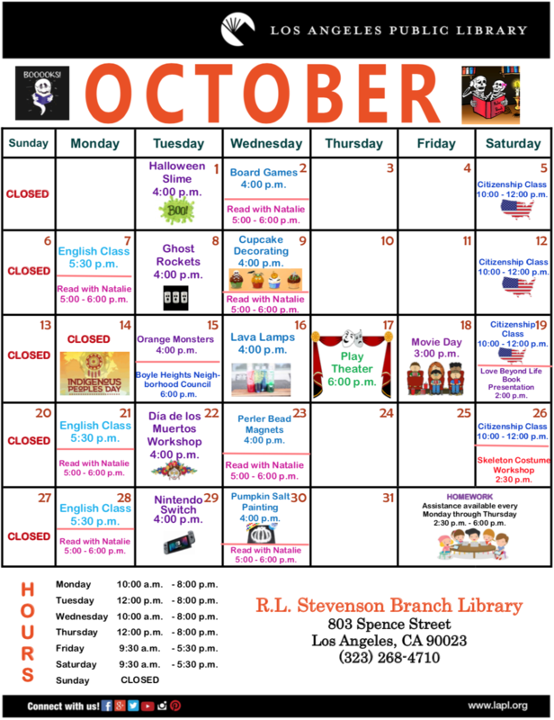Events at the Library Featured Photo