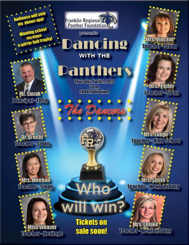 Dancing with the Panthers cast revealed.