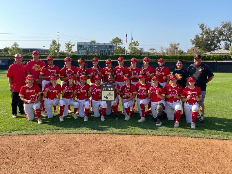 Congratulations to our Softball CIF Champions! Featured Photo