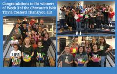 Week 3 Charlotte's Web Trivia Contest Winners