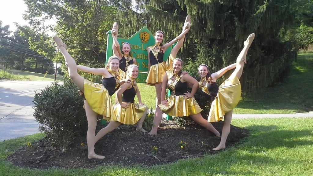 Dance Team poses