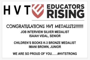 Educators Rising Winners