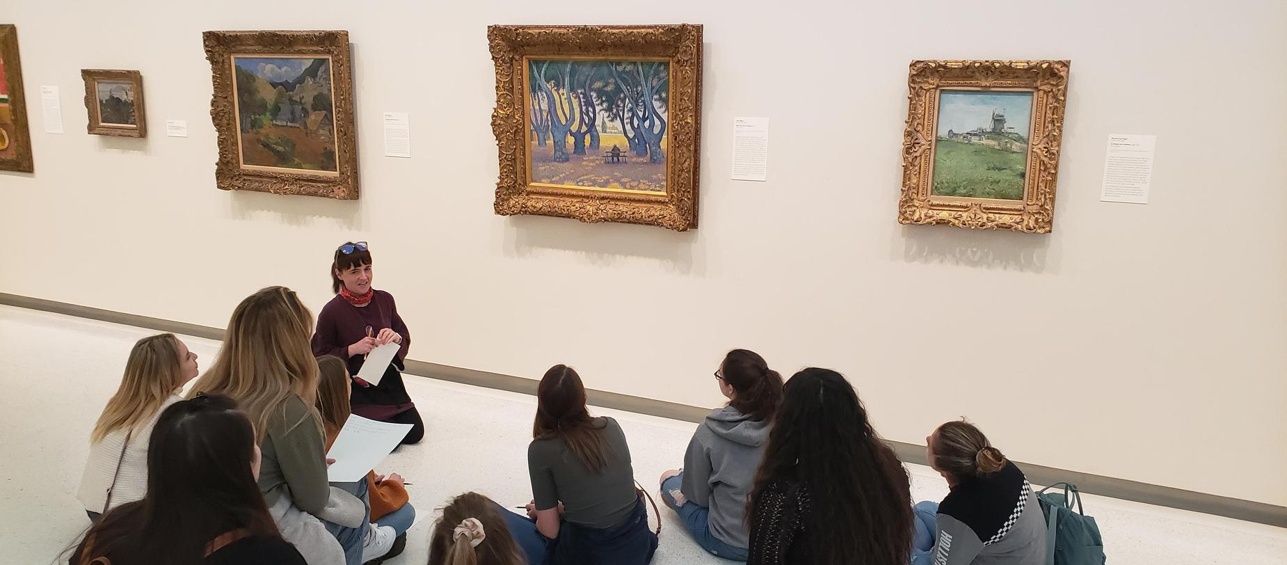 High School Art Field Trip