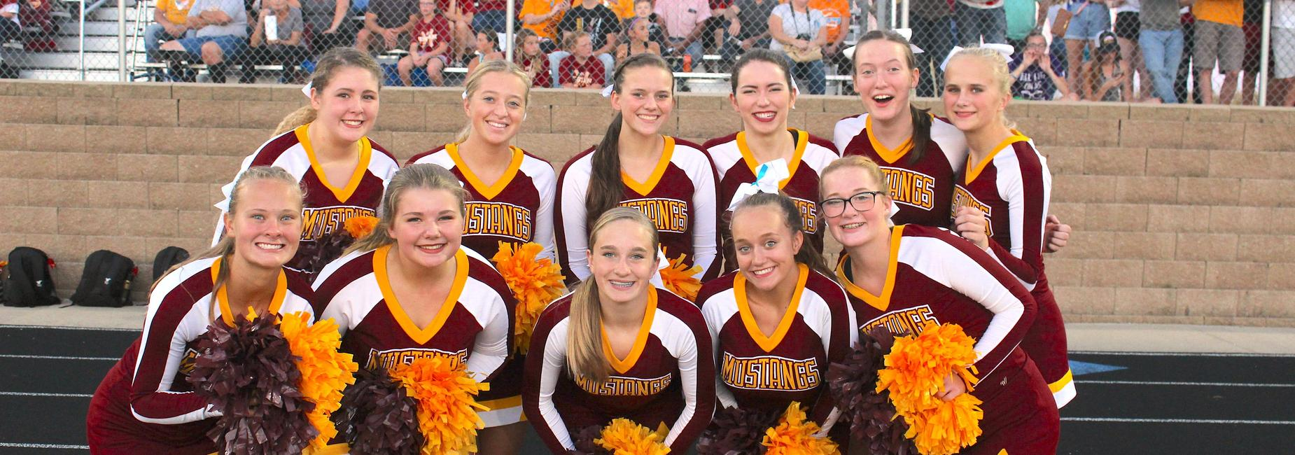 High School Cheerleading Team