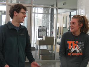 Alex Fabiano and Carly Snyder will represent TK at state competitions  - Fabiano in swimming and Snyder in bowling.